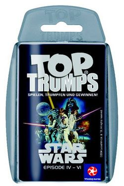 Star Wars IV-VI Top Trumps