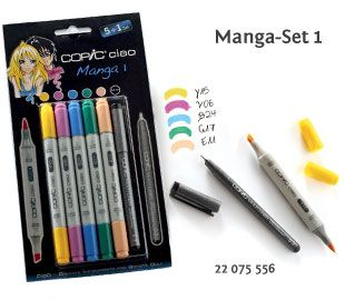 Copic Ciao Set Manga 1